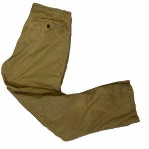 EDDIE BAUER Men's Flannel Lined Khaki Pants